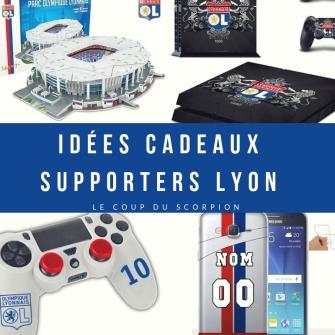 idées cadeaux cadeau noel pour supporters de olympique lyonnais ol lyon parc ol