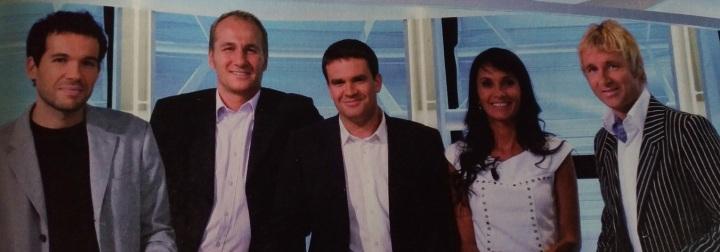 equipe equipe du dimanche de canal + quand ils etaient beau et jeunecanal