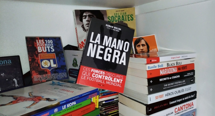 la mano negra livre football romain molina excellent oeuvre football le coup du scorpion site littérature foot