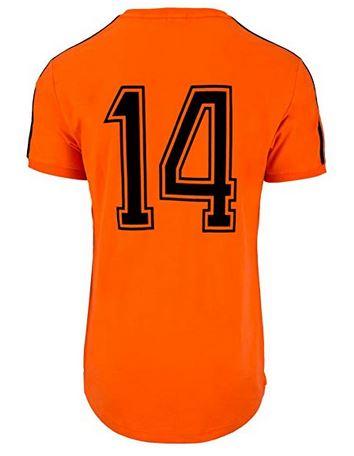 maillot 14 johan cruyff pays bas coupe du monde 1974 finale