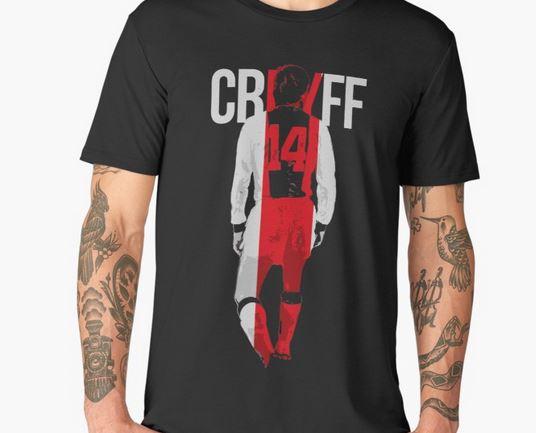t shirt johan cruyff ajax amsterdam pour les fans supporters