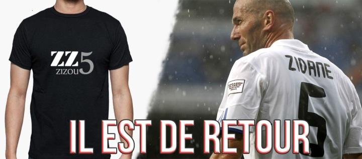 zidane est de retour au real madrid t shirt hommage.jpg